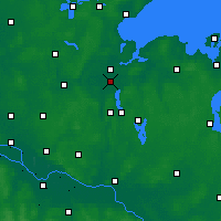 Nearby Forecast Locations - Bay of Lübeck - Map