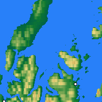 Nearby Forecast Locations - Andøya - Map