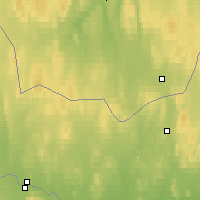 Nearby Forecast Locations - Kautokeino - Map