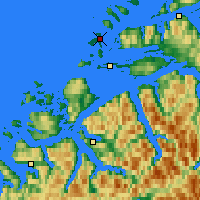 Nearby Forecast Locations - Ålesund - Map