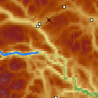 Nearby Forecast Locations - Fokstua - Map