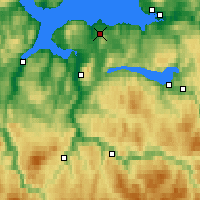 Nearby Forecast Locations - Trondheim - Map