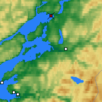Nearby Forecast Locations - Steinkjer - Map