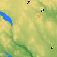 Nearby Forecast Locations - Latnivaara - Map