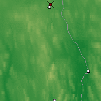 Nearby Forecast Locations - Pajala - Map