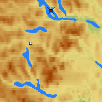 Nearby Forecast Locations - Saxnas - Map