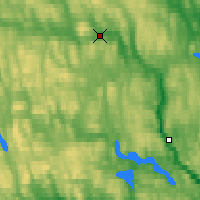 Nearby Forecast Locations - Krangede - Map