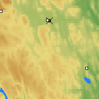 Nearby Forecast Locations - Sveg - Map