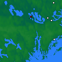Nearby Forecast Locations - Adelsö - Map