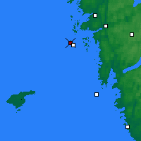 Nearby Forecast Locations - Vinga Lighthouse - Map