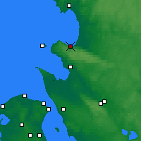 Nearby Forecast Locations - Båstad - Map