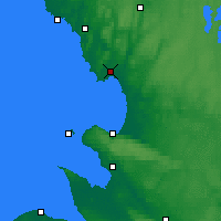 Nearby Forecast Locations - Halmstad - Map