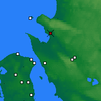 Nearby Forecast Locations - Ängelholm - Map