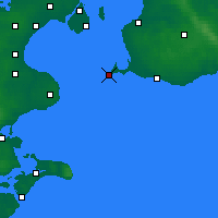 Nearby Forecast Locations - Falsterbo - Map