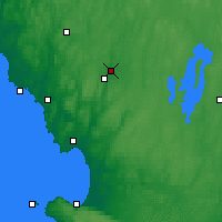 Nearby Forecast Locations - Torup - Map