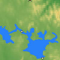 Nearby Forecast Locations - Inari Saariselka - Map