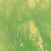 Nearby Forecast Locations - Enontekio Nakkala - Map