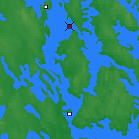 Nearby Forecast Locations - Kuopio Ritoniemi - Map