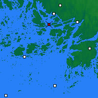 Nearby Forecast Locations - Turku Rajakari - Map