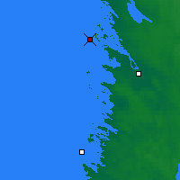 Nearby Forecast Locations - Pori Tahkoluoto - Map