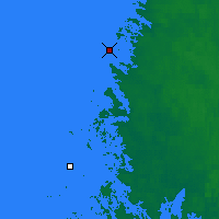 Nearby Forecast Locations - Rauma Kylmapihlaja - Map