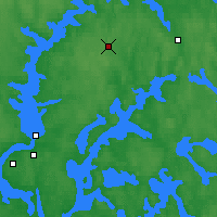 Nearby Forecast Locations - Juupajoki Hyytiala - Map