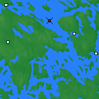 Nearby Forecast Locations - Rantasalmi Rukkasluoto - Map