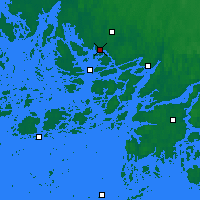 Nearby Forecast Locations - Turku Artukainen - Map