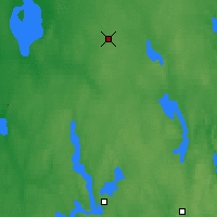 Nearby Forecast Locations - Alajarvi Moksy - Map