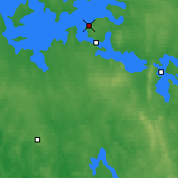 Nearby Forecast Locations - Kajaani - Map