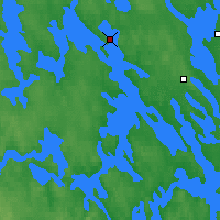 Nearby Forecast Locations - Viitasaari - Map