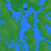 Nearby Forecast Locations - Kuopio - Map