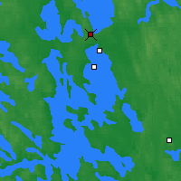 Nearby Forecast Locations - Joensuu - Map