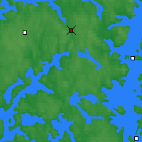 Nearby Forecast Locations - Jämsä - Map