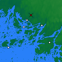 Nearby Forecast Locations - Turku - Map