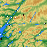 Nearby Forecast Locations - Tulloch Roy Bridge - Map