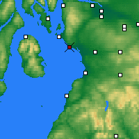 Nearby Forecast Locations - Ardrossan - Map