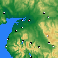 Nearby Forecast Locations - Carlisle - Map