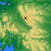 Nearby Forecast Locations - Pennines - Map