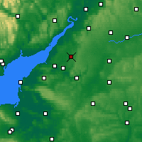 Nearby Forecast Locations - Yate - Map