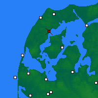 Nearby Forecast Locations - Silstrup - Map