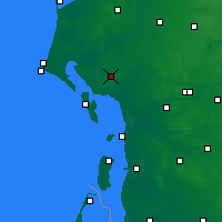 Nearby Forecast Locations - Esbjerg - Map