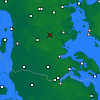 Nearby Forecast Locations - Vojens - Map