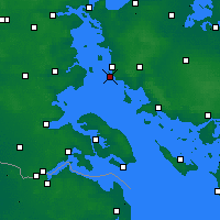 Nearby Forecast Locations - Toroe - Map