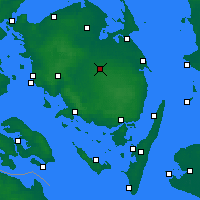 Nearby Forecast Locations - Årslev - Map