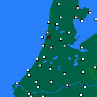 Nearby Forecast Locations - IJmuiden - Map