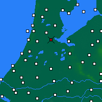 Nearby Forecast Locations - Amsterdam - Map