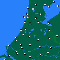 Nearby Forecast Locations - Haarlem - Map
