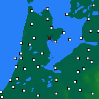 Nearby Forecast Locations - Hoorn - Map