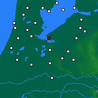 Nearby Forecast Locations - Almere - Map